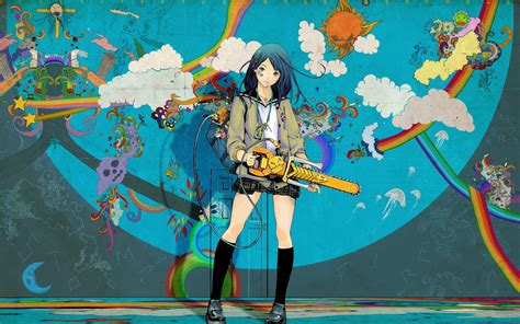 Amazing Anime Wallpaper - anime wallpaper chainsaw coolvibe digital artcoolvibe