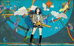 anime_wallpaper_chainsaw | Coolvibe - Digital ArtCoolvibe ...