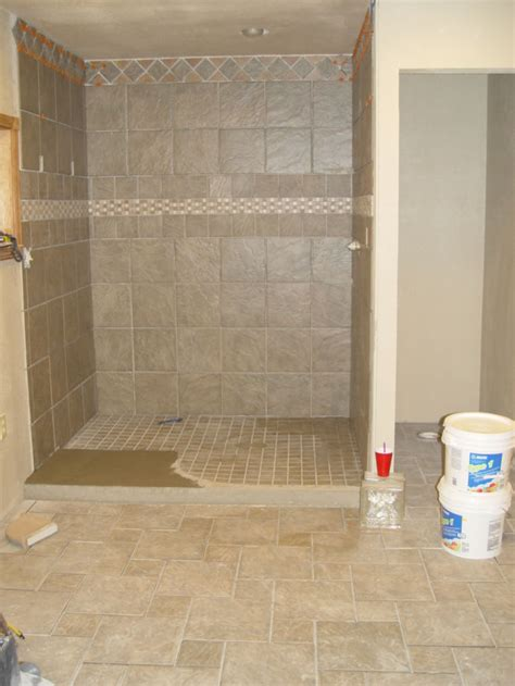 diy tile shower diy tile shower floor houses flooring picture ideas blogule