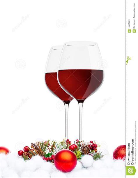 Blink Decor - wine glasses with decoration stock image