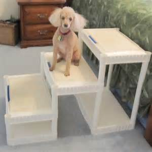 DIY Dog Stairs for Tall Beds