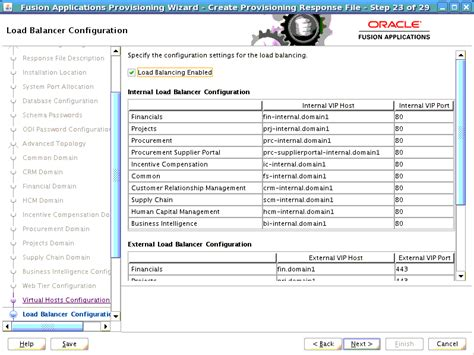 Oracle Fusion Financials Resume by Create A New Response File Screens 11g Release 6 11 1 6