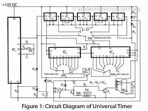 Electronic Projects Circuit Diagrams