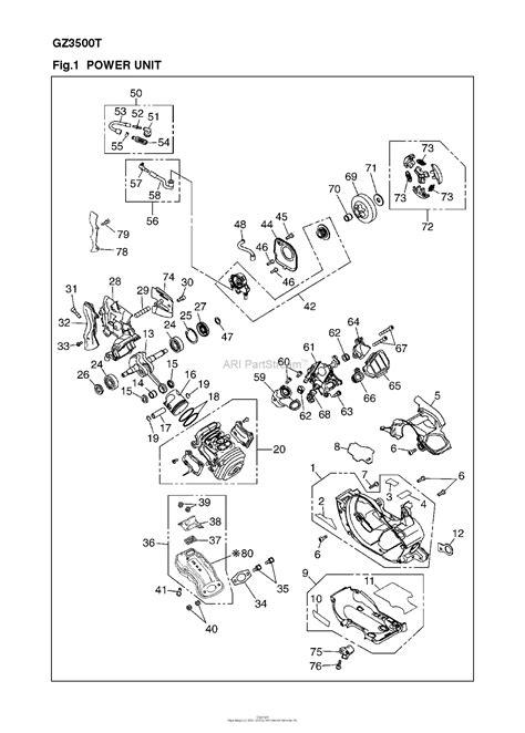 Red Max Gzt Parts Diagram