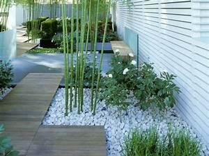 comment planter des bambous dans son jardin archzinefr With idee deco jardin avec cailloux 17 fontaine murale exterieure pour jardin terrasse et piscine