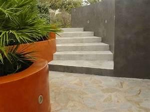 Peinture Pour Mur Extérieur : b ton cir pour terrasses et ext rieurs kit haute ~ Dailycaller-alerts.com Idées de Décoration