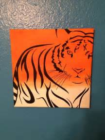 Tiger Paintings On Canvas