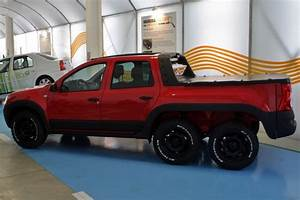 Pick Up Renault Dacia : dustruck dacia builds duster 6x6 pickup autoevolution ~ Gottalentnigeria.com Avis de Voitures