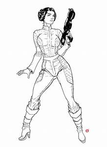 Princess Leia Drawing At Getdrawings
