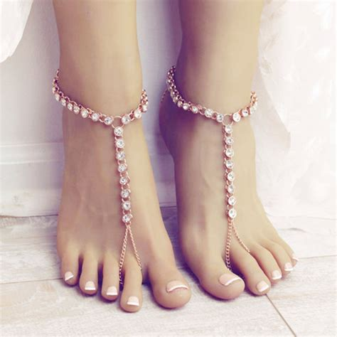 Women Diamond Carved Anklet Chain Crystal Bracelet Sandal. 3 Gold Necklace. White Gold Anklets. Special Operation Watches. Star Stone Gemstone. Opal Jewelry. Vatche Engagement Rings. Pearl Chains. Red Necklace