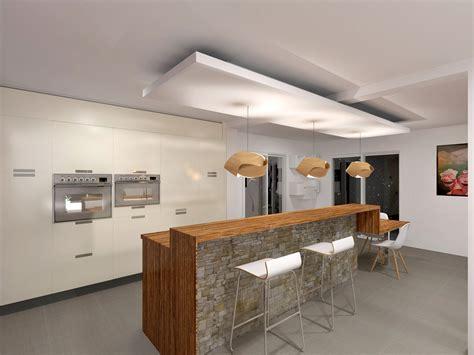 plafond de cuisine design faux plafond bois cuisine mzaol com