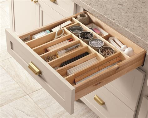 martha stewart kitchen storage keep your kitchen organized with built in drawer 7391