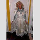 Homemade Broken Doll Costume | 480 x 720 jpeg 70kB