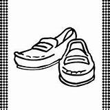 Loafers Printable Flash Template Shoe Shoes Coloring Sketch Loafer Templates Sketchite Cards sketch template