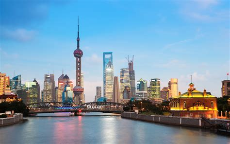 shanghai cityscape wallpapers wallpapers hd