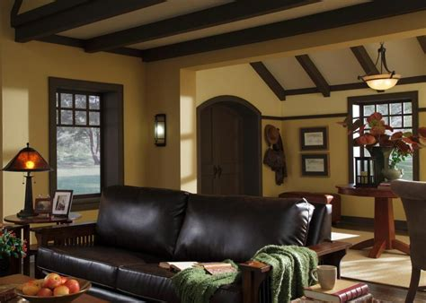 craftsman home interior design a craftsman living room hgtv
