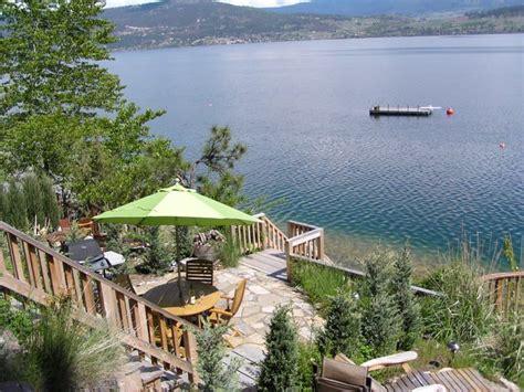 upscale cottage okanagan lake boat lift br