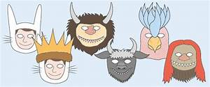 'Where The Wild Things Are' RolePlay Masks Free Early Years & Primary Teaching Resources