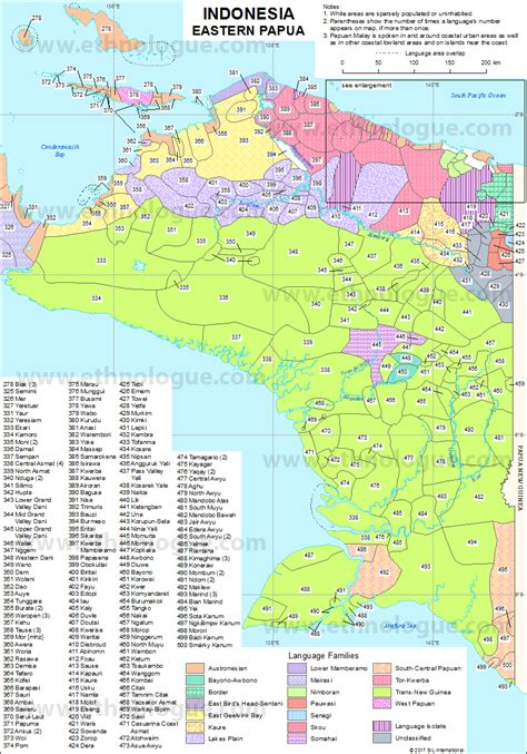 indonesia eastern papua ethnologue
