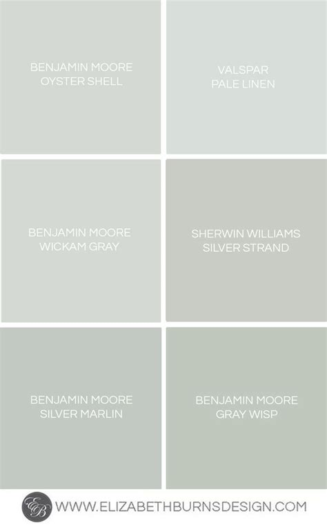 gray blue green shades grey sherwin williams silver