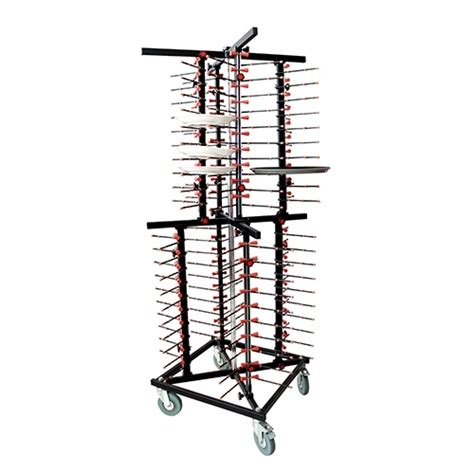 mobile plate rack