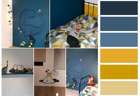 sticker mural enfant e glue trends in room decor