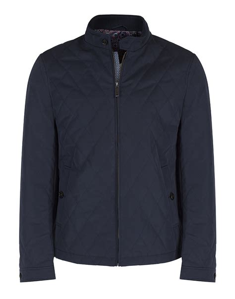 ted baker quilted jacket ted baker s noah quilted jacket navy country