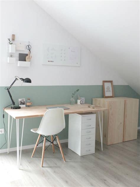 Wandgestaltung Schlafzimmer Dachschräge by Interi 248 R Dachschr 228 Ge Farbgestaltung Und Schreibtische Avec