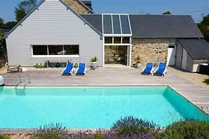 locations vacances piscine normandie manche tourisme With location maison avec piscine normandie