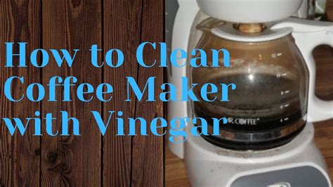 How to clean a coffee pot with vinegar. Is My Coffee Pot Growing Mold? Learn How to Clean Coffee ...