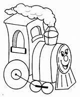 Coloring Train Steam Locomotive Printable Outline Clip Clipart Cliparts Engineer Colouring Toy Express Polar Happy Library Truck Deere Tractor John sketch template
