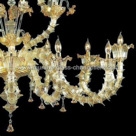 quot arabesque quot lustre en cristal de murano murano glass chandeliers
