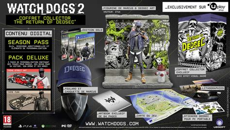 Watch Dogs 2 Wrench Wallpaper 3 éditions Collector Pour Watch Dogs 2