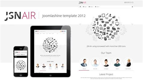air joomlsa template jsn air responsive business portfolio template joomla