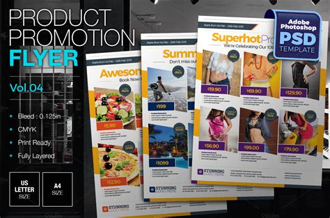 multipurpose product promotion flyer flyer templates