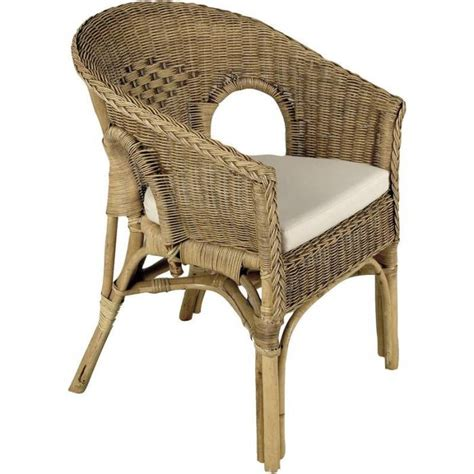 fauteuil en osier ou rotin fauteuil en rotin patin 233 marron 57x57x80cm achat vente fauteuil rotin cdiscount