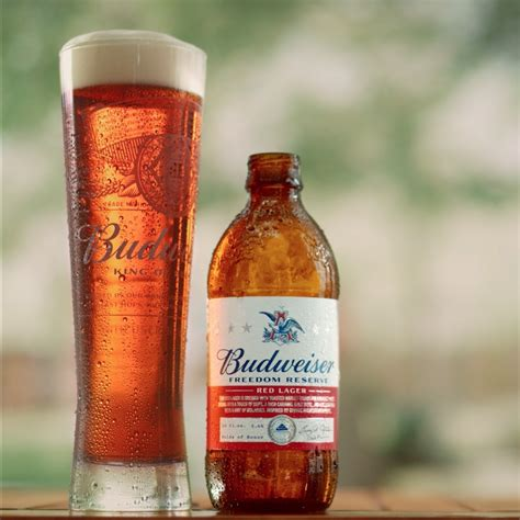 budweiser debuts  beer inspired  george washingtons