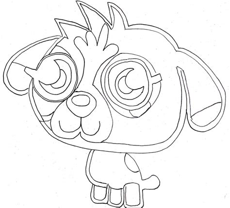 Coloring Pages To Print by Free Printable Moshi Coloring Pages For