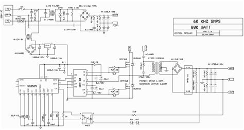 Switch Mode Power Supply Circuit Smps