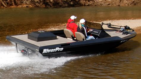 River Fishing Jet Boats For Sale by Riverpro Boats 186 Lopro Shallow Water Aluminum Bass