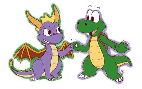 Spyro + Croc By Stephastated On Deviantart