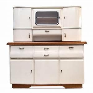 Küchenschrank Vintage : vintage buffet creme k chenschrank midcentury 50er jahre ~ Pilothousefishingboats.com Haus und Dekorationen