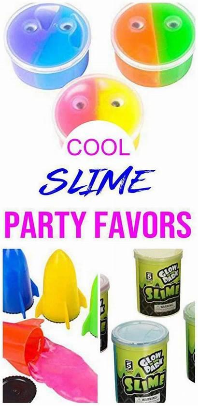 Slime Favor Birthday Favors Fun Kidbam