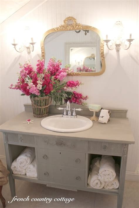 shabby chic bathroom vanity ideas 28 best shabby chic bathroom ideas and designs for 2017