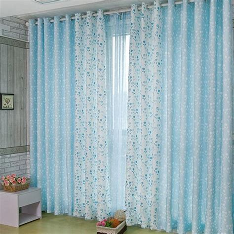 light blue curtains on sale 2016