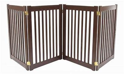 Wood Indoor Dog Fence Gate Tall Freestanding