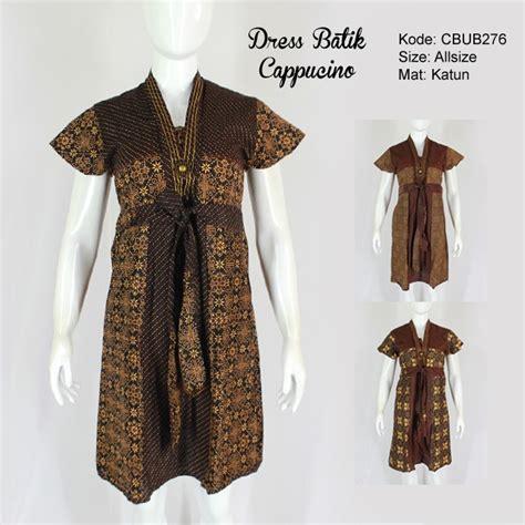 Kalung Batik Sekar We02 dress abg sekar batik motif cappucino dress murah