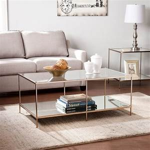 15 glass coffee tables to display in your formal living room With formal living room coffee tables