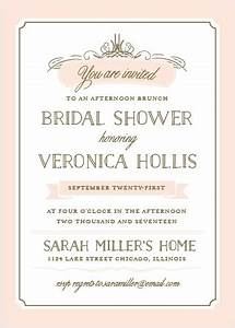 bridal shower invitations wedding shower invitations With wedding shower invite