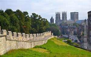 York, City, Walls